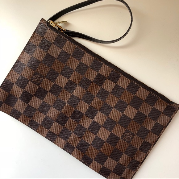 Louis Vuitton Handbags - Authentic Louis Vuitton Neverfull Wristlet
